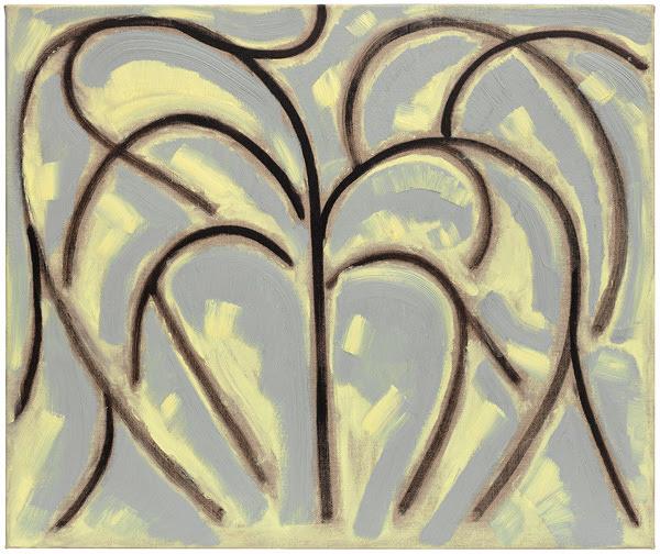 ベンジャミン・バトラー Untitled Tree, 2016, oil on linen, 50.0×60.0cm ©Benjamin Butler, Courtesy of Tomio Koyama Gallery