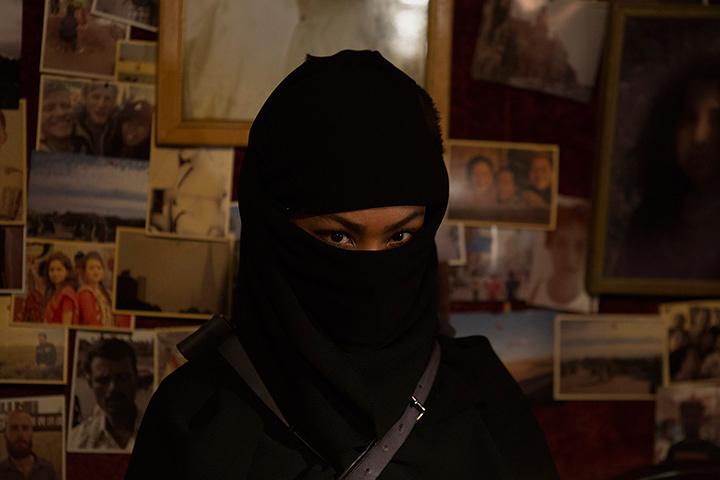 マリーが演じるイサーム ©リチャード・ウー,すぎむらしんいち・講談社/「ディアスポリス」製作委員会