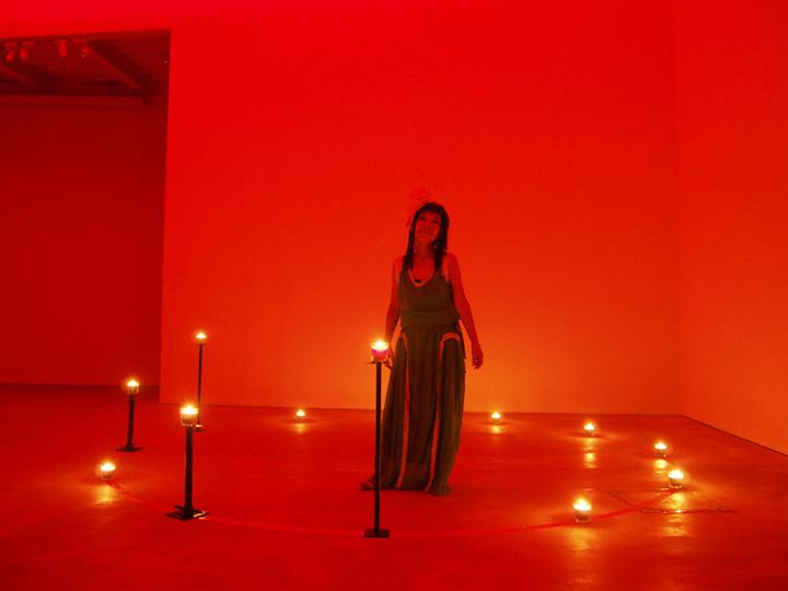 『くらやみコンサート』2015 市原湖畔美術館