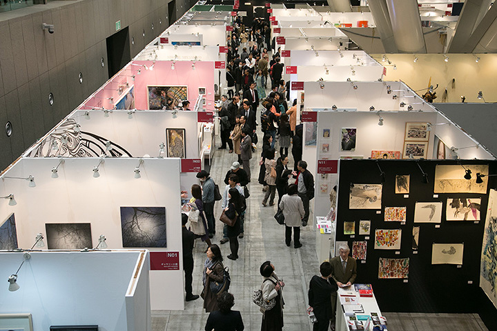 『アートフェア東京2015』会場風景