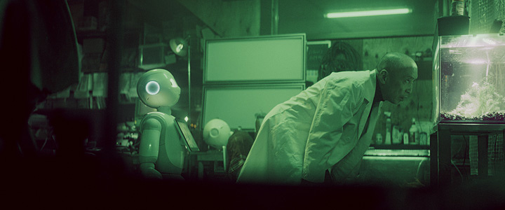 『Pepper the Movie「404」』 ©SoftBank Robotics Corp. All rights reserved.