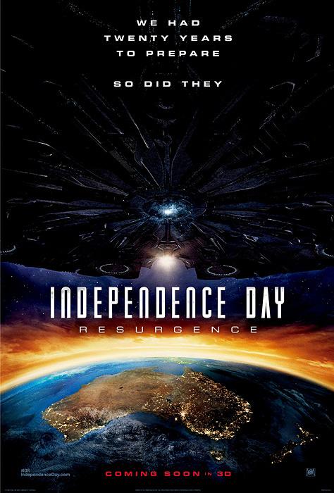 『インデペンデンス・デイ:リサージェンス』オーストラリア版ポスタービジュアル ©2016 Twentieth Century Fox Film Corporation. All Rights Reserved