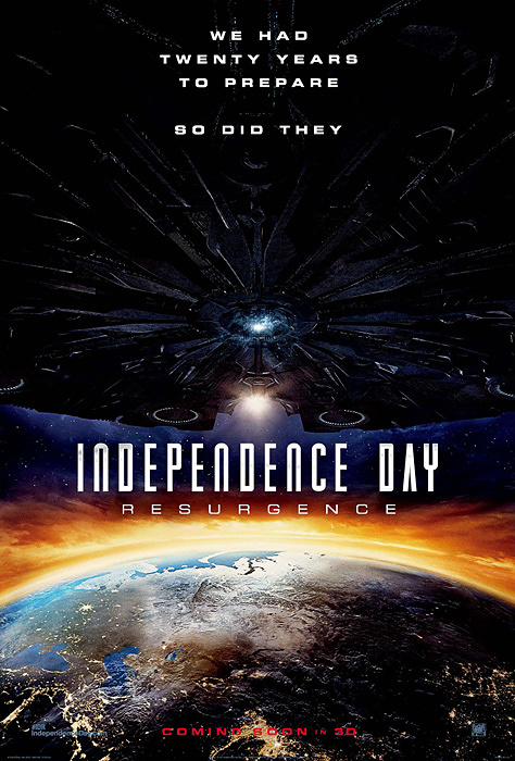 『インデペンデンス・デイ:リサージェンス』ロシア版ポスタービジュアル ©2016 Twentieth Century Fox Film Corporation. All Rights Reserved
