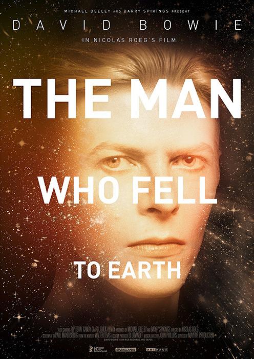 『地球に落ちて来た男』ポスタービジュアル