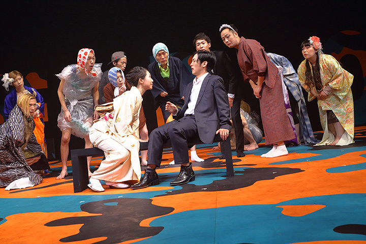 木ノ下歌舞伎『三人吉三』 Photo: Toshihiro Shimizu