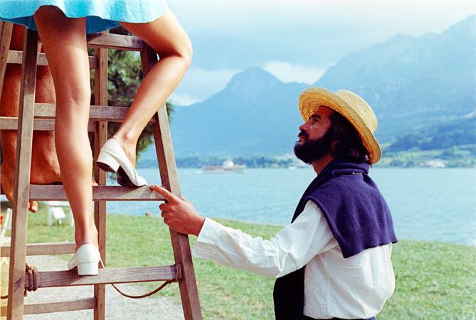 『クレールの膝』 ©Les Films du Losange