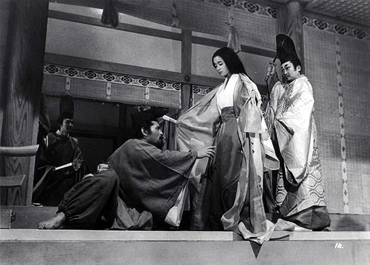 『地獄変』(監督:豊田四郎) ©1969東宝株式会社