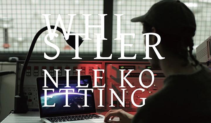 ナイル・ケティング展『ホイッスラー』メインビジュアル ©Nile KOETTING