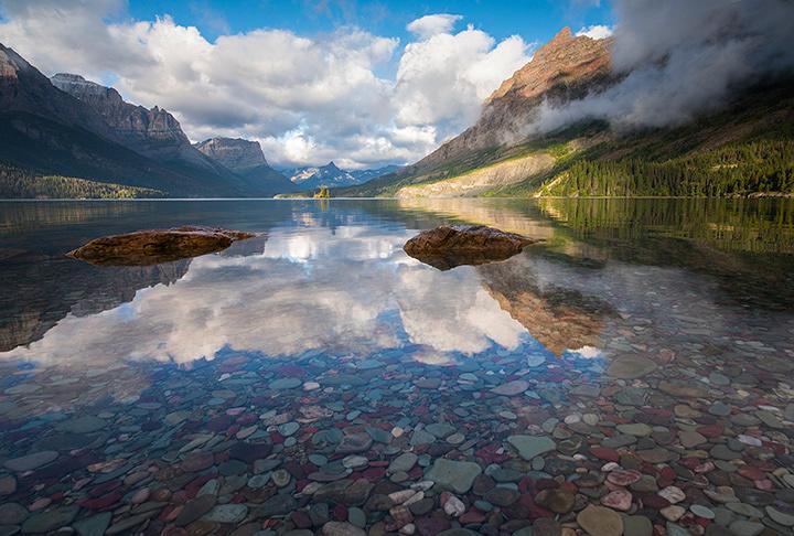 Glacier National Park, Courtesy of MacGillivray Freeman Films. Photographer: David Fortney ©VisitTheUSA.com