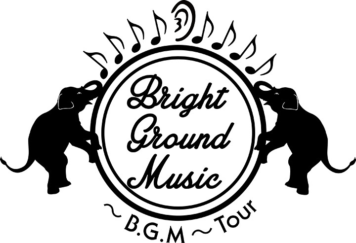 『Bright Ground Music ~B.G.M~ Tour』ロゴ