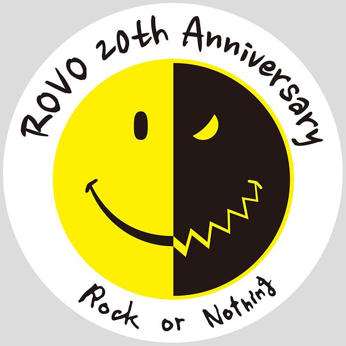 ROVO結成20周年記念ロゴ