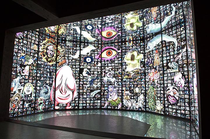 妖怪屋敷「無限六角堂」 ©水木プロダクション