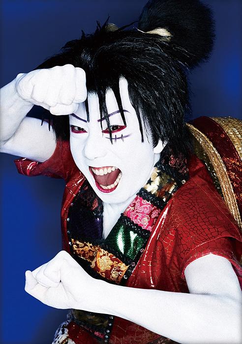 市川猿之助が演じるルフィ 『スーパー歌舞伎II ワンピース』より