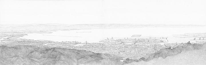 ヤマガミユキヒロ『六甲山からの眺望』