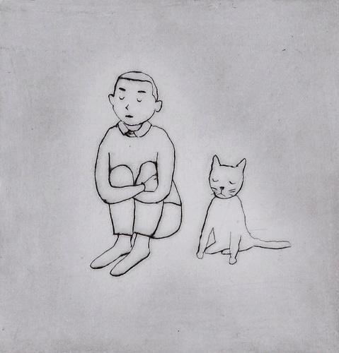大橋歩『猫に名前をつけるのは』  『サラダ好きのライオン村上ラヂオ3』(マガジンハウス)より 2012年 個人蔵