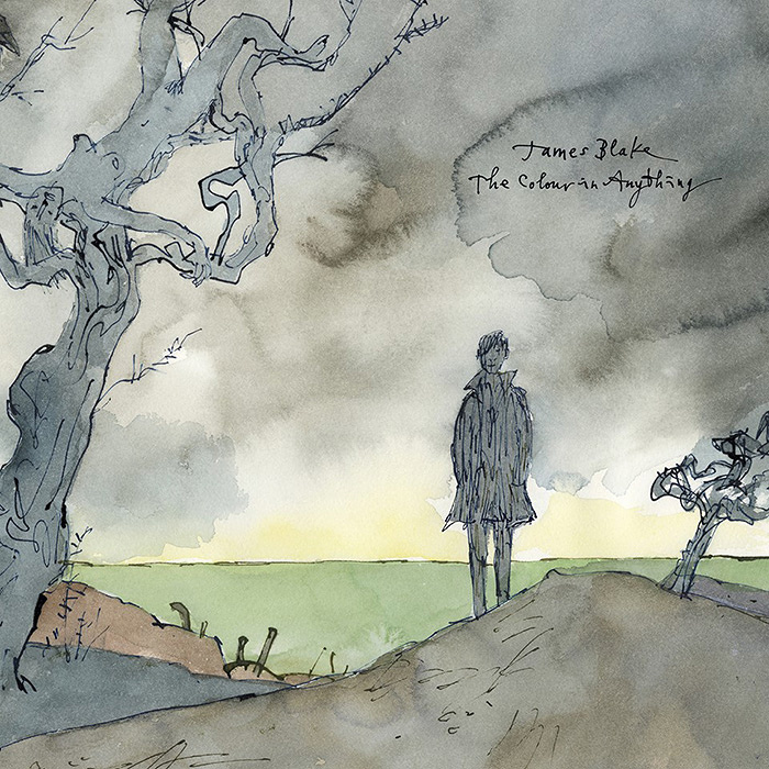 James Blake『The Colour In Anything』ジャケット