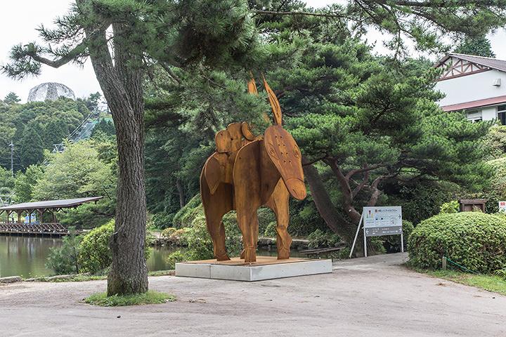 三宅信太郎『ドンキー』六甲山カンツリーハウス 2015年