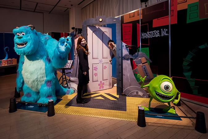 『ピクサー アドベンチャー 「もしも」から始まる、冒険の世界』会場イメージ