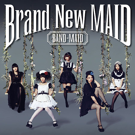 BAND-MAID『Brand New MAID』Type-Aジャケット