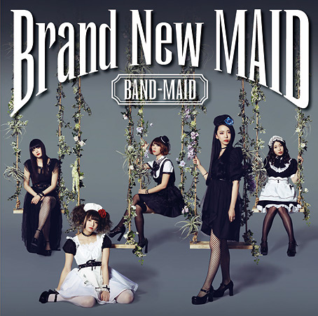 BAND-MAID『Brand New MAID』Type-Bジャケット