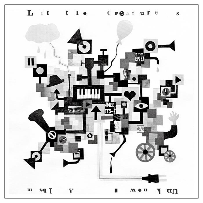 LITTLE CREATURES『未知のアルバム』ジャケット