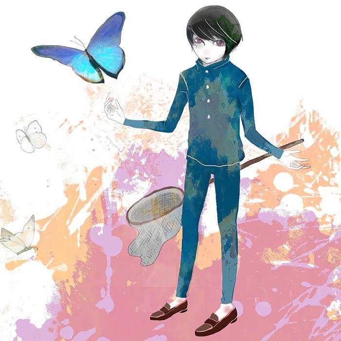"mushifuru project キミノオルフェ""虫ピン""イメージビジュアル"