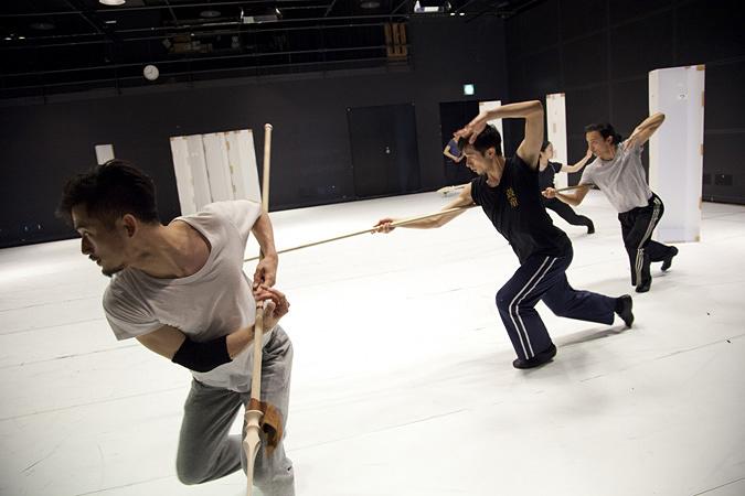 Noism 劇的舞踊 vol.3『ラ・バヤデール―幻の国』リハーサルの様子 撮影:遠藤龍