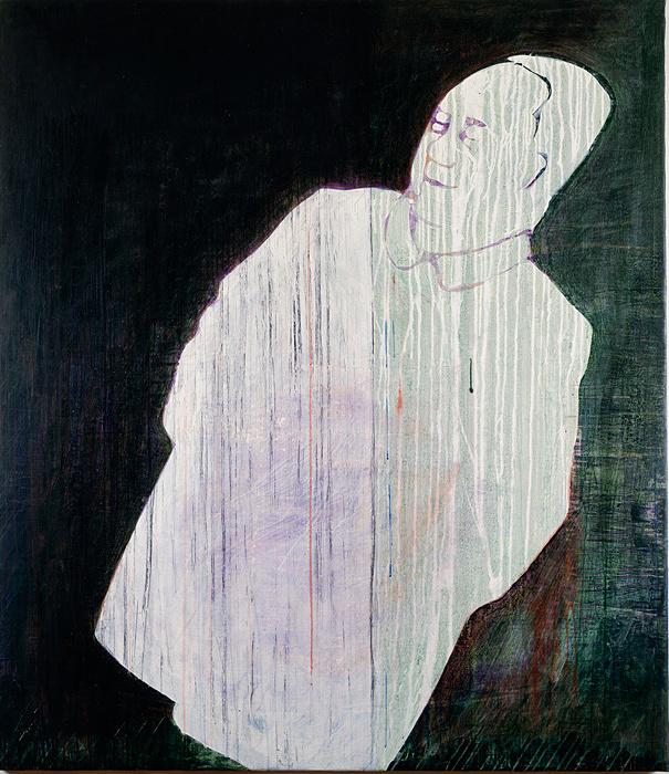 艾未未(アイ ウェイウェイ)『毛像組 1』 1985年/カンヴァスにアクリル絵具/167.4 ×146.5cm
