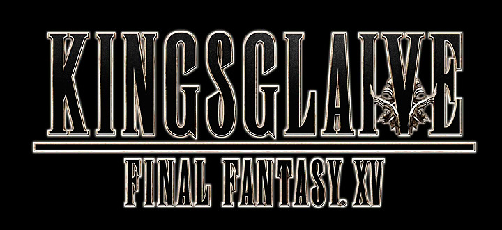 『KINGSGLAIVE FINAL FANTASY XV』ロゴ