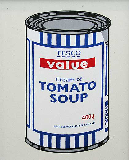 Banksy『SOUP CAN - ORIGINAL COLOUR』