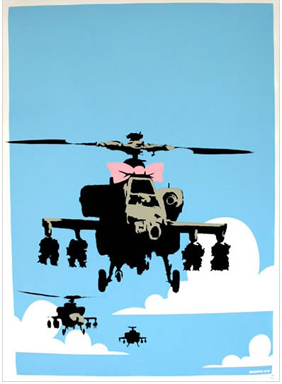 Banksy『HAPPY CHOPPERS』