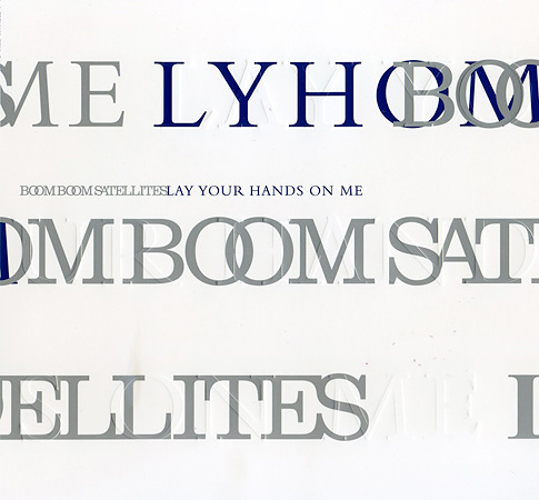 BOOM BOOM SATELLITES『LAY YOUR HANDS ON ME』初回限定盤ジャケット