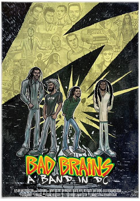 『バッド・ブレインズ/バンド・イン・DC』キービジュアル ©2012 PLAIN JANE PRODUCTIONS