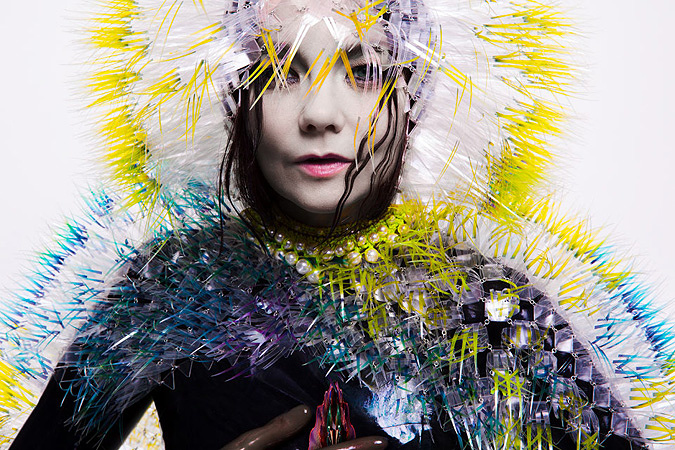 Bjork ©2015 Inez and Vinoodh. Image courtesy of Wellhart/One Little Indian