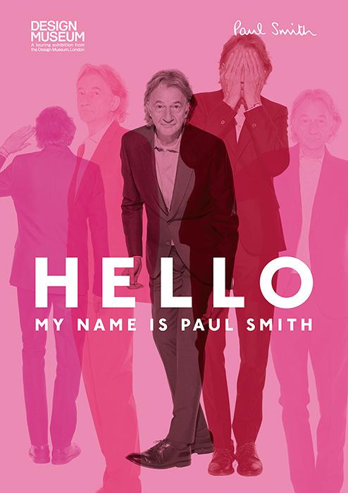 ポール・スミス展『HELLO, MY NAME IS PAUL SMITH』メインビジュアル