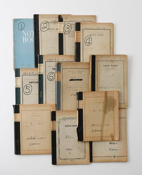 『日記』より 1961-64年 Photo: Kioku Keizo