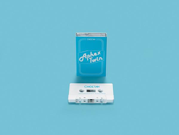 Aphex Twin『Cheetah EP』カセットテープ イメージビジュアル