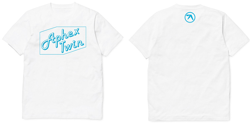 Aphex TwinTシャツ イメージビジュアル