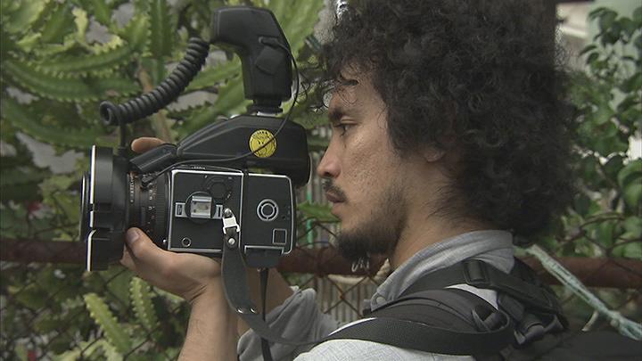 『日曜美術館「沖縄 見つめて愛して 写真家・平敷兼七」』より石川竜一