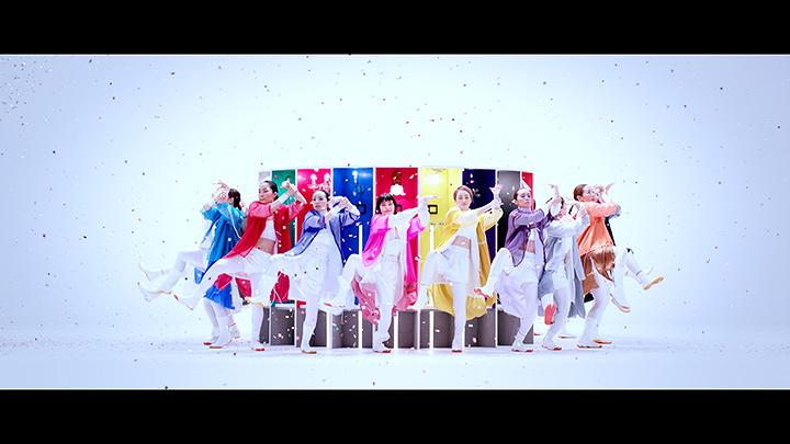 水曜日のカンパネラ×shu uemura「COLORHOLIC」コラボレーション映像より