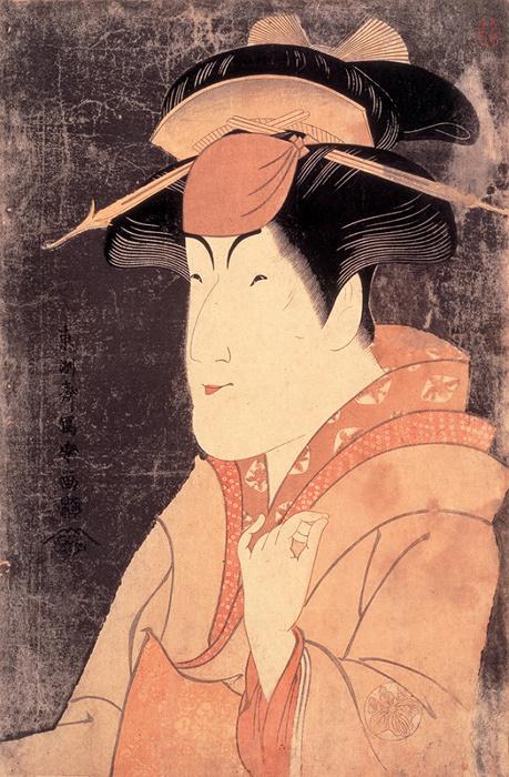 東洲斎写楽『中山富三郎の宮城野』