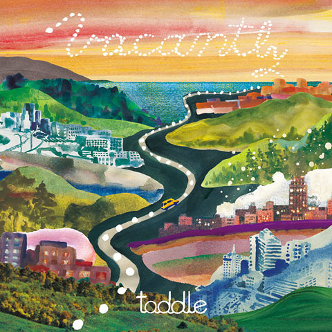 toddle『Vacantly』ジャケット