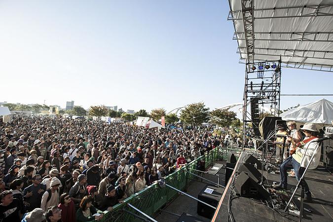 『TOYOTA ROCK FESTIVAL』会場風景