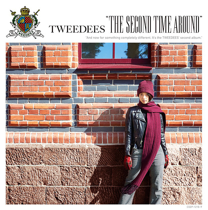 TWEEDEES『The Second Time Around』初回限定盤ジャケット