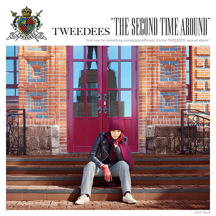 TWEEDEES『The Second Time Around』通常盤ジャケット