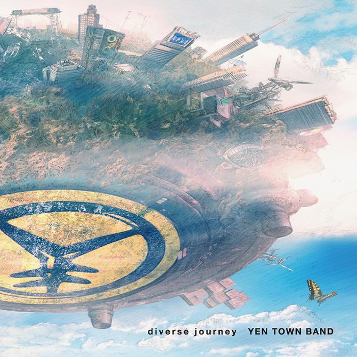 YEN TOWN BAND『diverse journey』初回限定盤ジャケット