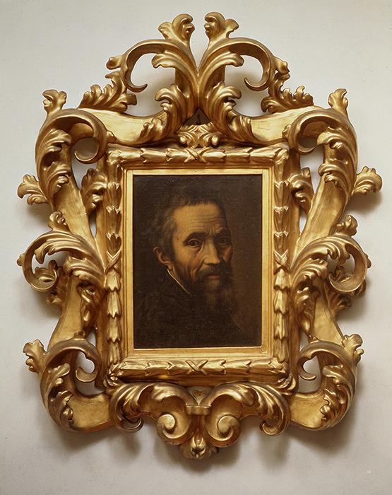 マルチェッロ・ヴェヌスティに帰属『ミケランジェロの肖像』1535年以降、カーサ・ブオナローティ蔵 ©Associazione Culturale Metamorfosi and Fondazione Casa Buonarroti