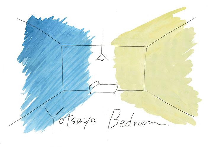 『YOTSUYA BEDROOM』キービジュアル