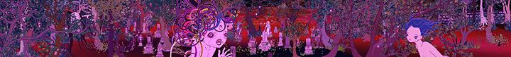 青島千穂『光る都市』 ©2005 Chiho Aoshima/Kaikai Kiki Co., Ltd. All Rights