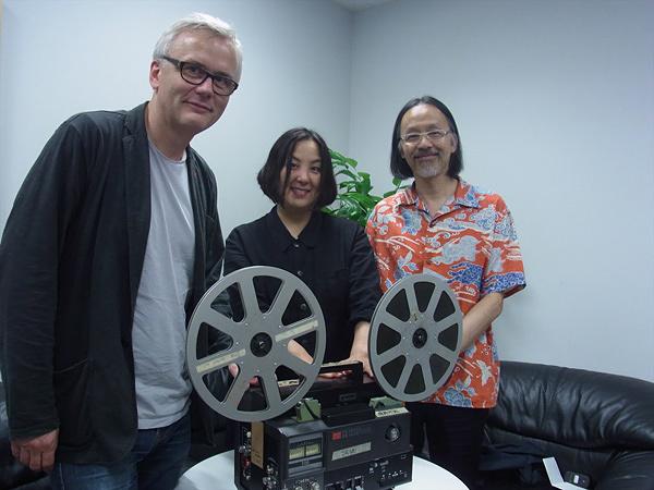 左から『ベルリン国際映画祭』フォーラム部門ディレクターのクリストフ・テルヘヒテ、『PFF』ディレクターの荒木啓子、『香港国際映画祭』キュレーターのジェイコブ・ウォン